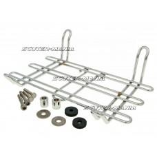luggage rack Buzzetti chromed pentru Vespa GTS, GTV 250-300cc