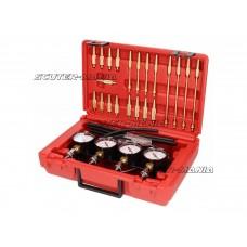 Set unelte sincronizare carburator Buzzetti (vacuum) pentru pana la 4 carburatoare