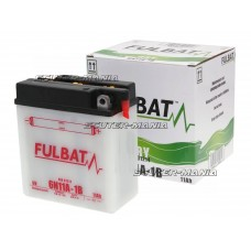 Acumulator (baterie) Fulbat 6V 6N11A-1B DRY (include electrolit)