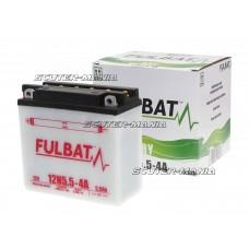 Acumulator (baterie) Fulbat 12N5.5-4A DRY (include electrolit)