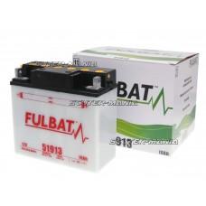 Acumulator (baterie) Fulbat 51913 DRY (include electrolit)