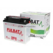 Acumulator (baterie) Fulbat 51814 DRY (include electrolit)