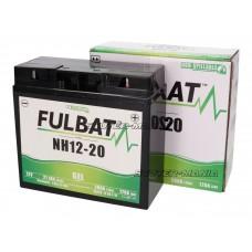 Acumulator (baterie) Fulbat NH12-20, NH12-18 GEL pentru ride-on mower, mowing machine