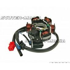 Stator - alternator 6 bobine pentru GY6 125/150cc