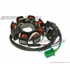 Stator - alternator 8 bobine pentru GY6 125/150cc