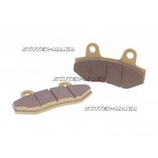 brake pad set pentru two piston caliper pentru China