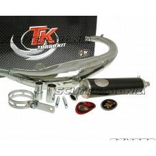 Kit evacuare Turbo Kit Road RQ crom pentru Rieju RS1 Evolution