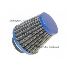 Filtru aer Power albastru - conexiune carburator 35mm