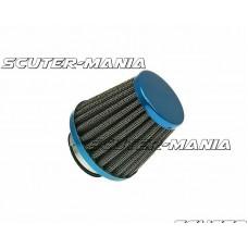 Filtru aer Power albastru - conexiune carburator de 38mm