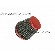 Filtru aer Power rosu - conexiune carburator de 38mm