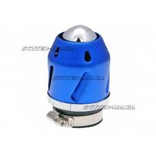 Filtru aer Grenade albastru versiunea dreapta conexiune carburator 42mm