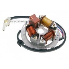 alternator stator / magneto ignition 6V pentru Simson S51, S53, S70, S83, Schwalbe, SR