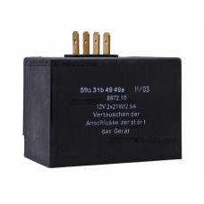 charge controller / flasher relay 12V 2x21W, 2.5A pentru Simson S51, S52, S70, S83, SR50, SR80