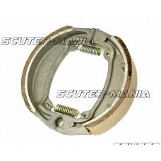 Set saboti frana 110x25mm pentru frana cu tambur pentru Aprilia Amico 50, Kymco DJ 50, Peugeot Zenith 50