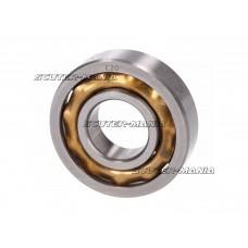 crankshaft ball bearing E20 w/ brass cage 20x47x12mm pentru Puch Maxi