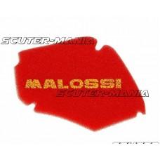 Filtru aer Malossi - burete rosu pentru Piaggio ZIP (pana in 2005), Zip Fast Rider 50 in 2 timpi, Zip 50 in 4 timpi 2-valve