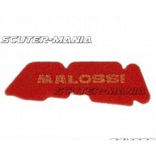 Filtru aer Malossi - burete rosu pentru Derbi, Gilera, Piaggio