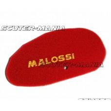 Filtru aer burete rosu dublu Malossi pentru Benelli Velvet, Italjet Jupiter, Malaguti Madison, MBK Skyliner, Yamaha Majesty 250