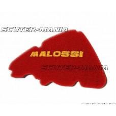 Filtru aer burete rosu dublu Malossi pentru Piaggio Liberty 50 in 4 timpi