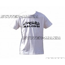 Tricou Malossi alb marime XL
