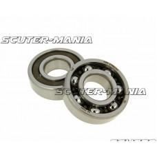 crankshaft bearing set Malossi MHR 20x47x14 C4H pentru Minarelli, Derbi EBE, EBS, D50B0