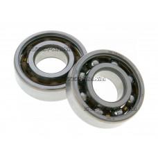 crankshaft bearing set Malossi MHR 20x47x14 SKF (6204 TN9/HN3C4) pentru Minarelli, Derbi EBE, EBS, D50B0