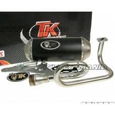 Kit evacuare Turbo Kit GMax in 4 timpi pentru GY6, 139QMB 50cc in 4 timpi