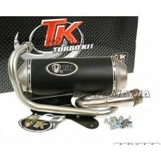 Kit evacuare Turbo Kit GMax in 4 timpi pentru Piaggio Zip 50 in 4 timpi, Derbi in 4 timpi
