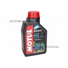 Motul engine oil 4T 4T 10W40 ATV-UTV/ quad 1 Liter