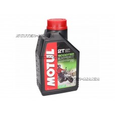Motul engine oil 2T Scooter Expert semi-synthetic 1 liter
