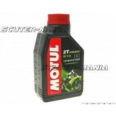 Motul engine oil 2T 510 semi-synthetic 1 liter
