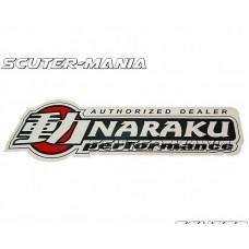 Afisaj autocolant fereastra Naraku 50x15cm