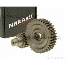 Kit transmisie secundara Naraku Racing 16/37 +25% pentru GY6 125/150cc 152/157QMI