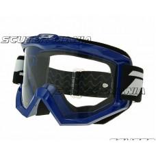 MX goggle ProGrip 3201 Race Line blue