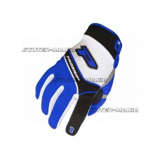 Manusi ProGrip MX 4010 alb-albastru marime S