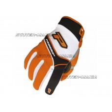 Manusi ProGrip MX 4010 alb-portocaliu marime S