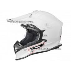 MX helmet ProGrip 3190 white marime L (59-60)