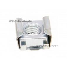 cage nut OEM 6mm pentru brake pedal, regulator / rectifier pentru Vespa, Piaggio, Ape