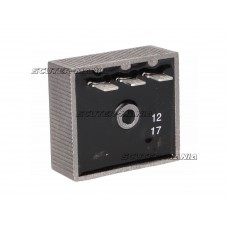 Regulator tensiune original (3 pini) pentru Aprilia MX, RS, RX, Tuono RX 50 -2005, Rieju