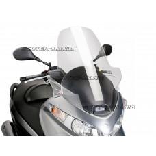 Parbriz Puig V-Tech Touring Line transparent/clar pentru Suzuki Burgman 125, 200 (2007-2013)