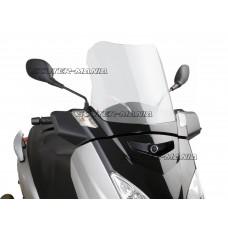 Parbriz Puig V-Tech Touring Line transparent/clar pentru Yamaha X-Max 125 YP125R (2006-2009)