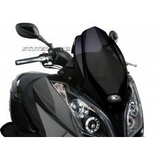 Parbriz Puig V-Tech Sport negru pentru Kymco Downtown 125i, 300i ABS (2009-2014)