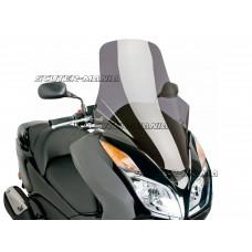 Parbriz Puig V-Tech Touring Line fumuriu inchis pentru Honda Forza NSS 300 ABS (dupa 2013)