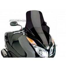 Parbriz Puig V-Tech Touring Line negru pentru Honda Forza NSS 300 ABS (dupa 2013)