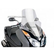 Parbriz Puig V-Tech Touring Line transparent/clar pentru Honda Forza NSS 300 ABS (dupa 2013)