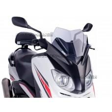 Parbriz Puig V-Tech Sport fumuriu pentru Yamaha X-Max 125 YP125R (2010-2014)