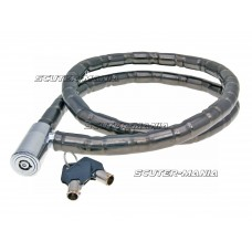 cable lock 120cm x 18mm with two keys