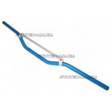 Ghidon MX aluminiu cu bara transversala, albastru 22mm - 810mm