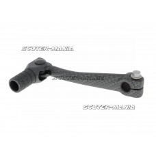 gear shift lever aluminum carbon-look pentru Minarelli AM, Crosser, SM