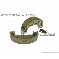 brake shoe set 100x20mm pentru drum brake pentru Piaggio Quartz, Zip Base 50, Sfera 50, 80